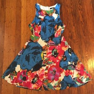 Colorful Floral ModCloth Dress